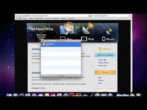 Installera NetNewsWire