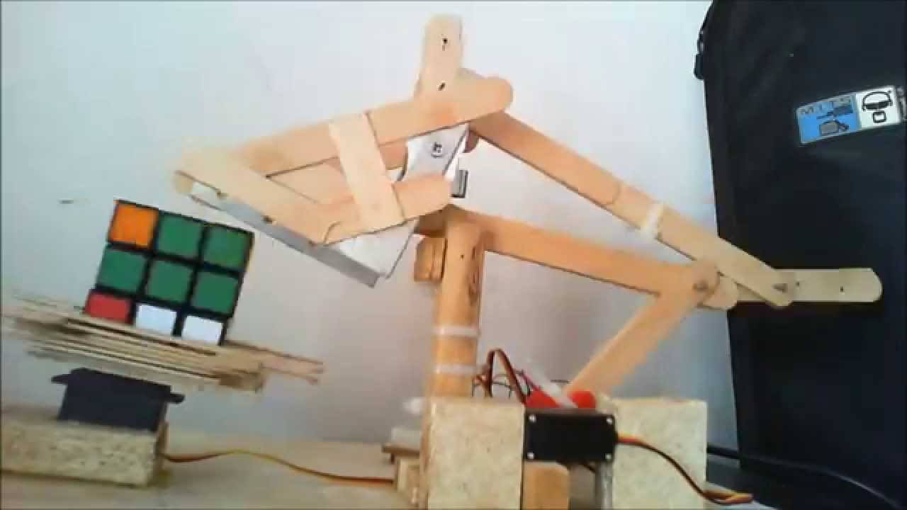 Arduino Robot Rubik Cube Solver