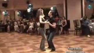 Heidi Groskreutz and Eric West Coast Swing performance