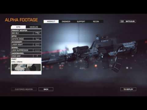 Battlefield 4 (Weapon Customization Example)