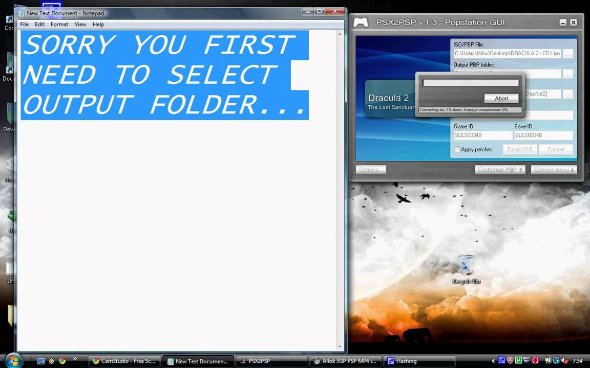 Tutorial Step By Step Convert And Play One Multi Disk