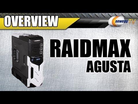 RAIDMAX Agusta ATX-605BT Black / Titanium Steel / Plastic ATX Full Tower  Computer Case - Newegg com