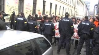 Pochod za samostatné Slovensko 14.3.2015 Bratislava