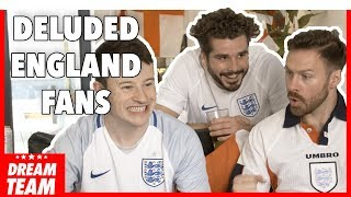 THE MOST DELUDED ENGLAND FANS EVER!