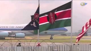 KWAHERI OBAMA: Rais Obama awaaga Wakenya JKIA