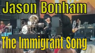 The Immigrant Song ~ Led Zeppelin cover - Jason Bonham - Waterfront Concerts, Bangor Maine 2018