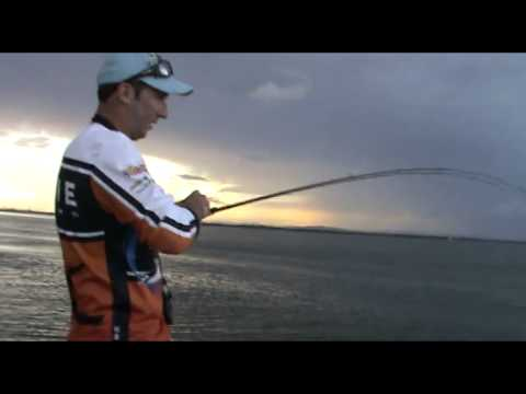Brisbane River Fishing For Jewfish Aka Mulloway In Shallow Water With Shads Lures 17 Gram Hard Vibes