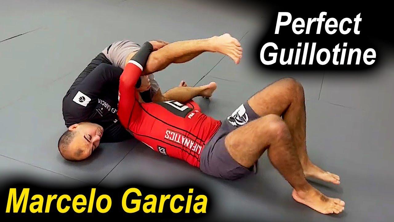 How To Do The Perfect Jiu Jitsu Guillotine by Marcelo Garcia