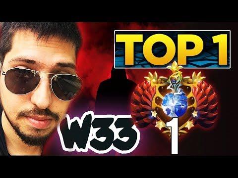w33 Back to TOP 1 MMR World - Best Visage?! Dota 2 Gameplay Compilation