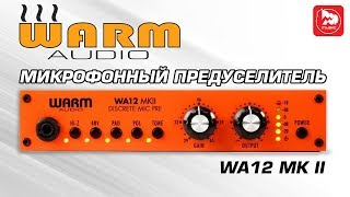 Микрофонный предусилитель Warm Audio WA12 MK II