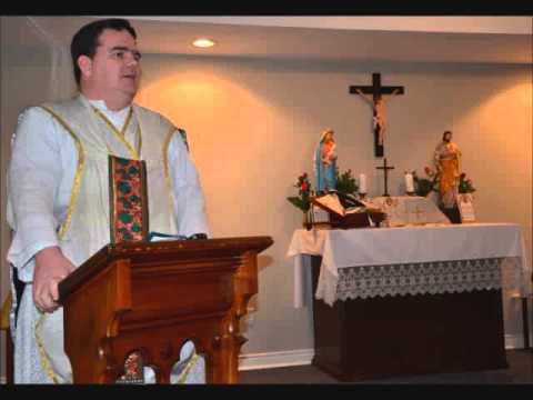 Fr  Joseph Pfeiffer   25 Dec 2012   Christmas Mass Sermon   Toronto, Ontario, Canada