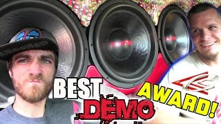 BEST BASS DEMO at Slamfest 2014 | Insane LOUD Car Audio System FLEX w/ Joshs EXTREME Subwoofer Setup