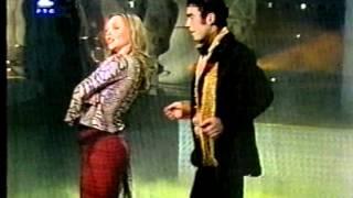 Nataša Šolak i Milan Antonić u Novogodišnjem programu RTS-a 2001.