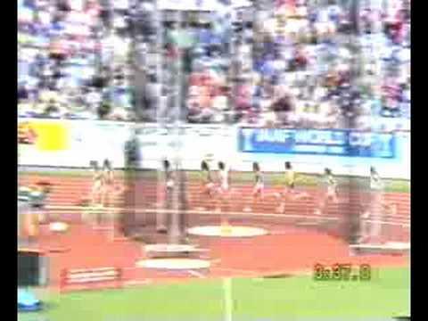 1983 World Champs 1500m Final women
