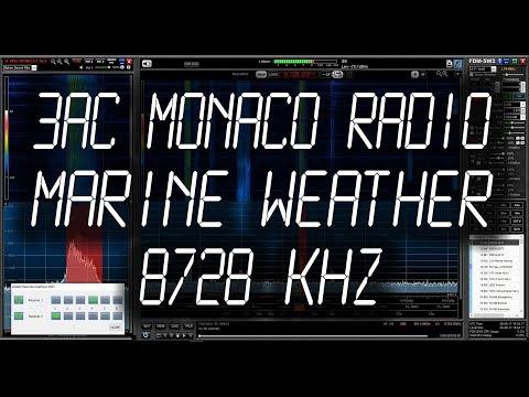 3AC Monaco Radio, station opening sequence - 8728 kHz