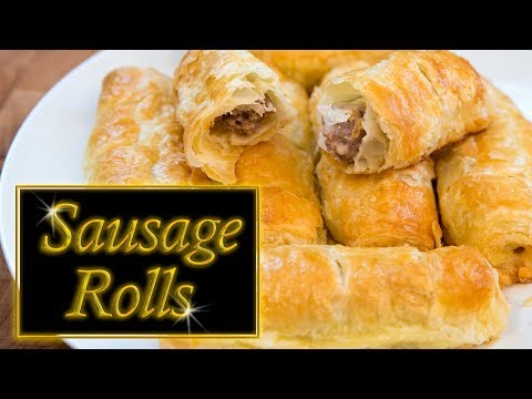 Sausage rolls (Puff Pastry)
