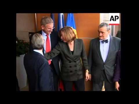 WRAP Livni meets EU troika to discuss Gaza ADDS photo op, Sarkozy meets Mubarak