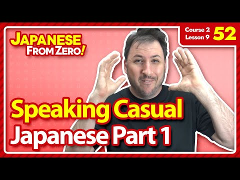 Speaking casual japanese part 1 japanese from zero video 52 speaking casual japanese part 1 japanese from zero video 52 m4hsunfo