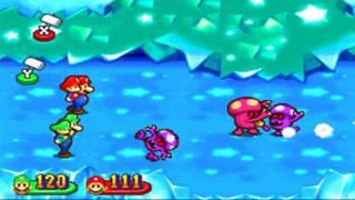 Mario & Luigi Partners in Time: Boss Fight 11 (Com. Shroob)