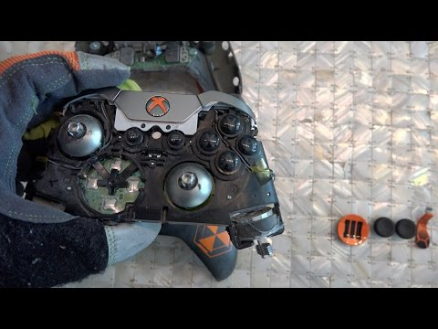 What's inside an Xbox One Elite Controller?