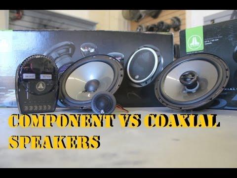 Component vs Coaxial Speakers (JL Audio)