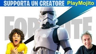 SHOPPO LA SKIN STAR WARS *ASSALTATORE IMPERIALE* su Fortnite