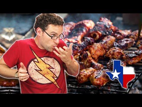 Irish People Taste Test Texan Food