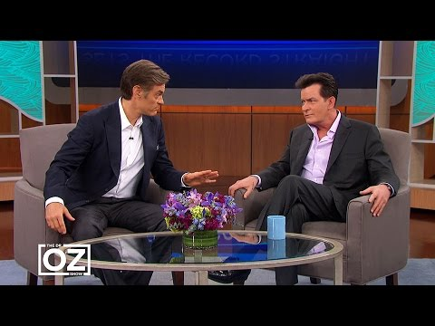 Charlie Sheen and Dr. Oz React to Dr. Sam Chachoua's Accusations
