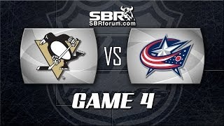 NHL Picks: Pittsburgh Penguins vs. Columbus Blue Jackets Game 4