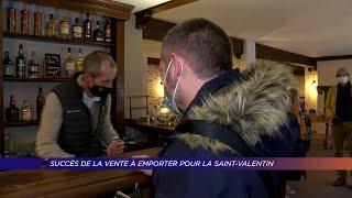 Yvelines | Succès de la vente à emporter pour la Saint-Valentin