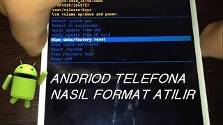 General Mobile 4G Android One Nasıl Format Atılır?