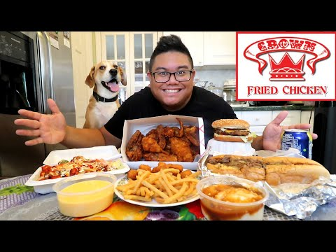 Crowned Fried Chicken Feast | Food Challenge
