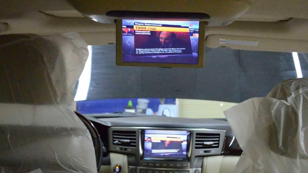 Автомобильный цифровой DVB T2 тюнер Redpower DT2. Подключаем .