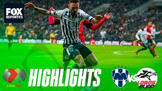 Rayados 4-0 Lobos   HIGHLIGHTS   Liga MX