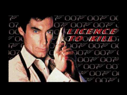 Licence to Kill (Amiga 50Hz) - Intro / Attract Mode