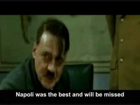 Hitler Reaction to Napoli Trade