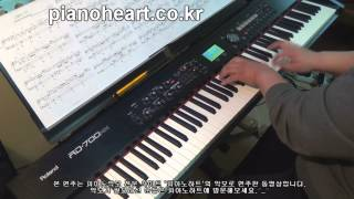 EXO - 12월의 기적(Miracles in December) 피아노 연주,RD-700NX