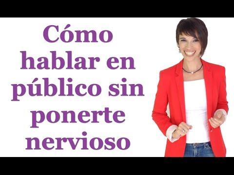 Cómo hablar en público sin ponerte nervioso / How to speak in public without getting nervous.