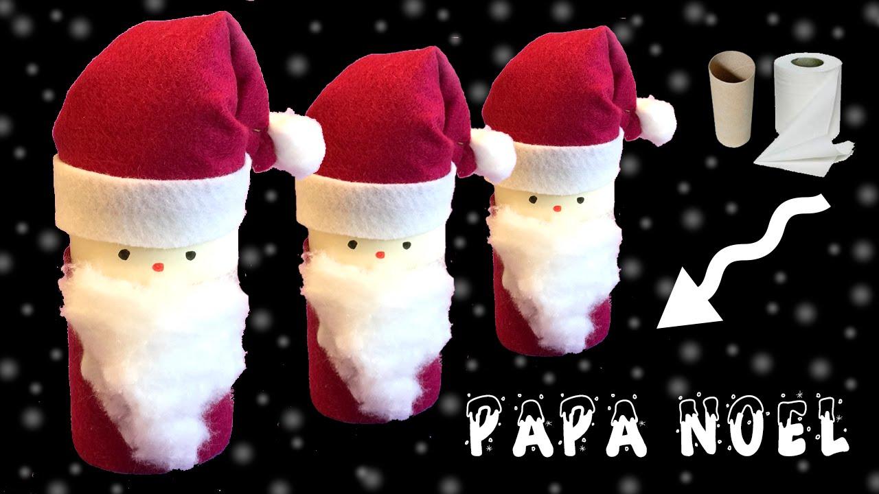 Decoracion De Noel ~ Decoraci?n de navidad Papa No?l de cart?n  YouTube