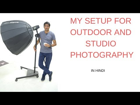 My setup for outdoor and studio photography thumbnail