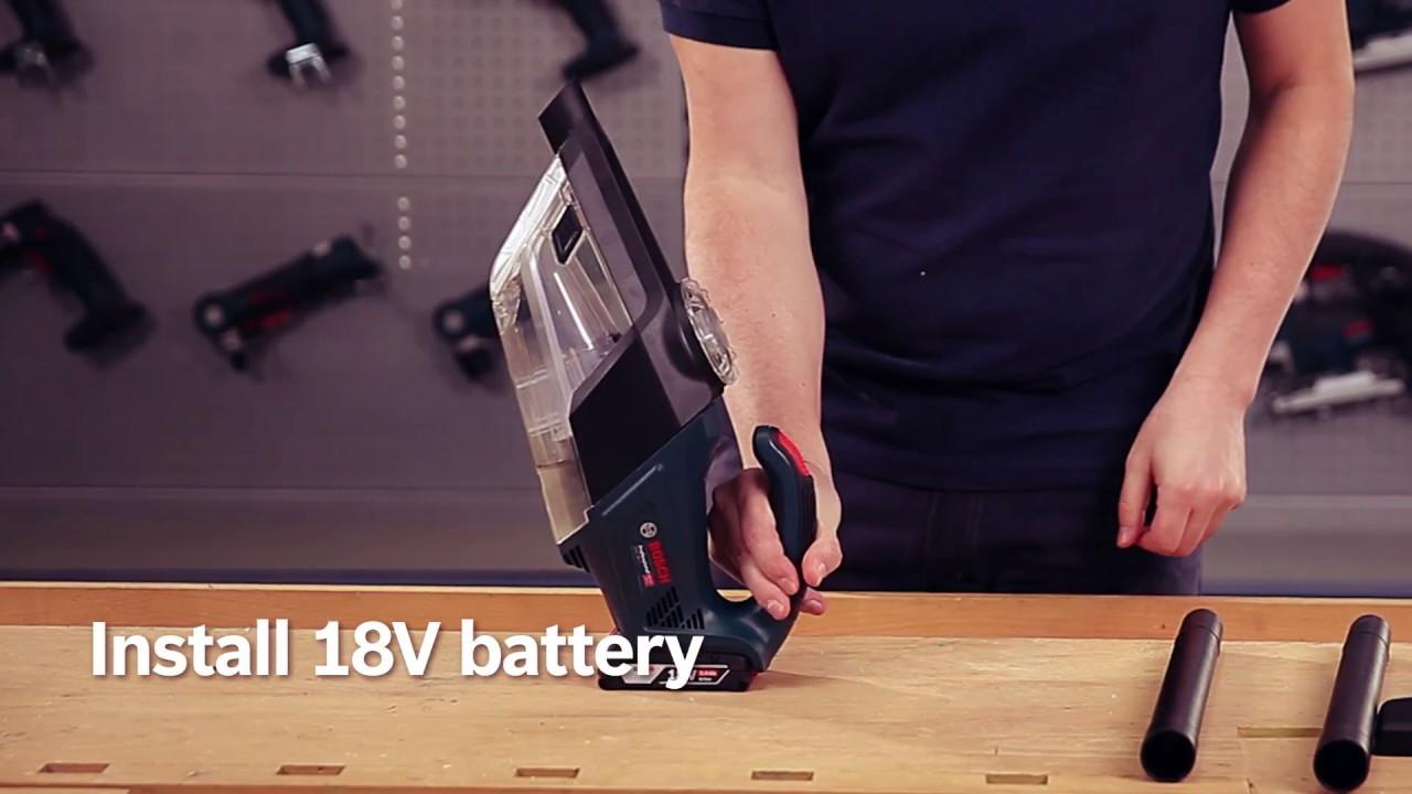 Neu 博世18V鋰電吸塵器Bosch GAS 18V-1 Professional - YouTube NQ43