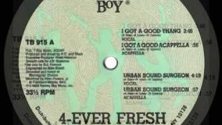 4-EVER FRESH - urban sound surgeon