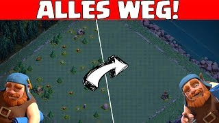 ALLE HINDERNISSE ENTFERNEN! || CLASH OF CLANS || Let's Play CoC [Deutsch German]