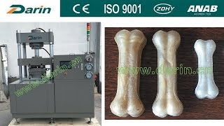 Rawhide Pet Bone Pressing Machine Manufacturer PLC And Touch Screen
