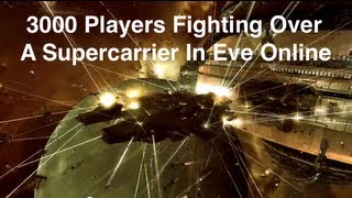 Eve Online - Flight Of A Thousand Rifters III - 3000 Players In Huge Fight thumbnail