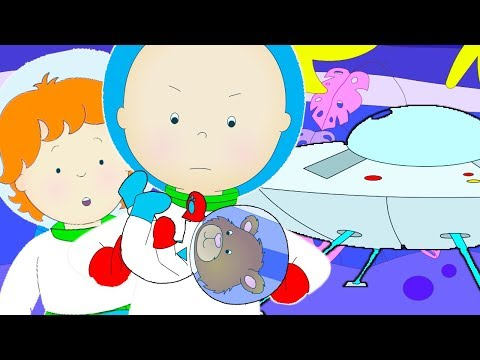 Caillou Goes to Space  Funny Animated cartoons Kids  WATCH ONLINE  Cartoon for Children