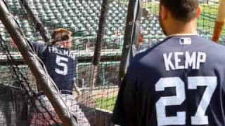 Braves Spring Training All-Access: Freddie Freeman and Matt Kemp