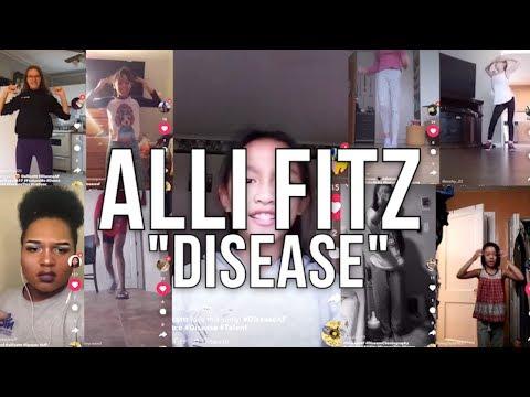 #DISEASEAF CHALLENGE - Alli Fitz Disease FITZFAM video