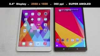 iPad Mini 2 Retina vs Samsung Galaxy Tab S 8.4' Full Comparison