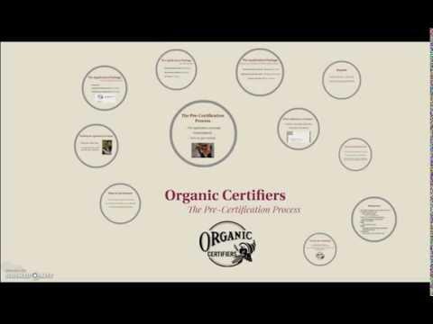 Organic Pre-Certification Process - Crop Producers